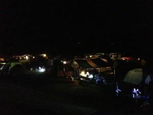 菊水道の駅夜キャンプ