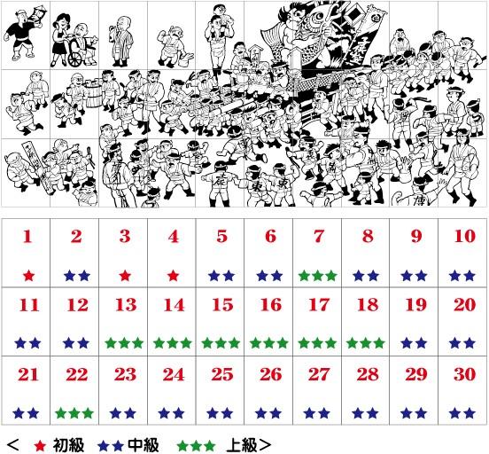 第3回 30人で制作する子供山笠のきり絵 参加者募集!