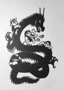 影龍と子供達